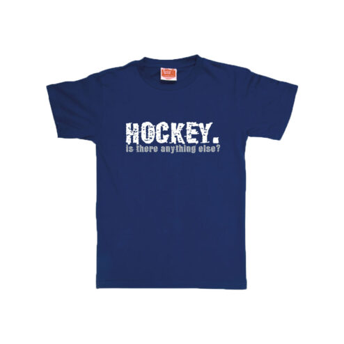 Eat Sleep Hockey T-shirt Navy