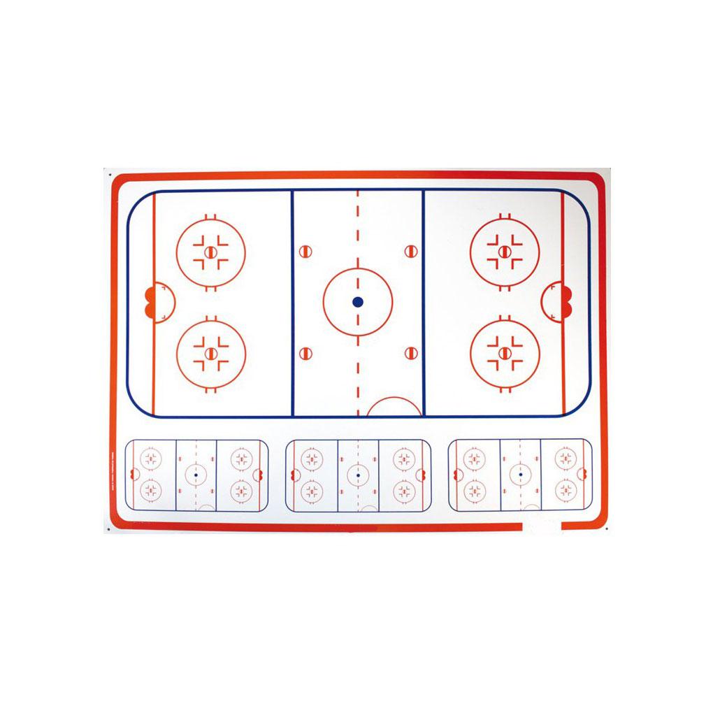 taktiktavla hockey stor